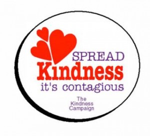 Spread Kindness button